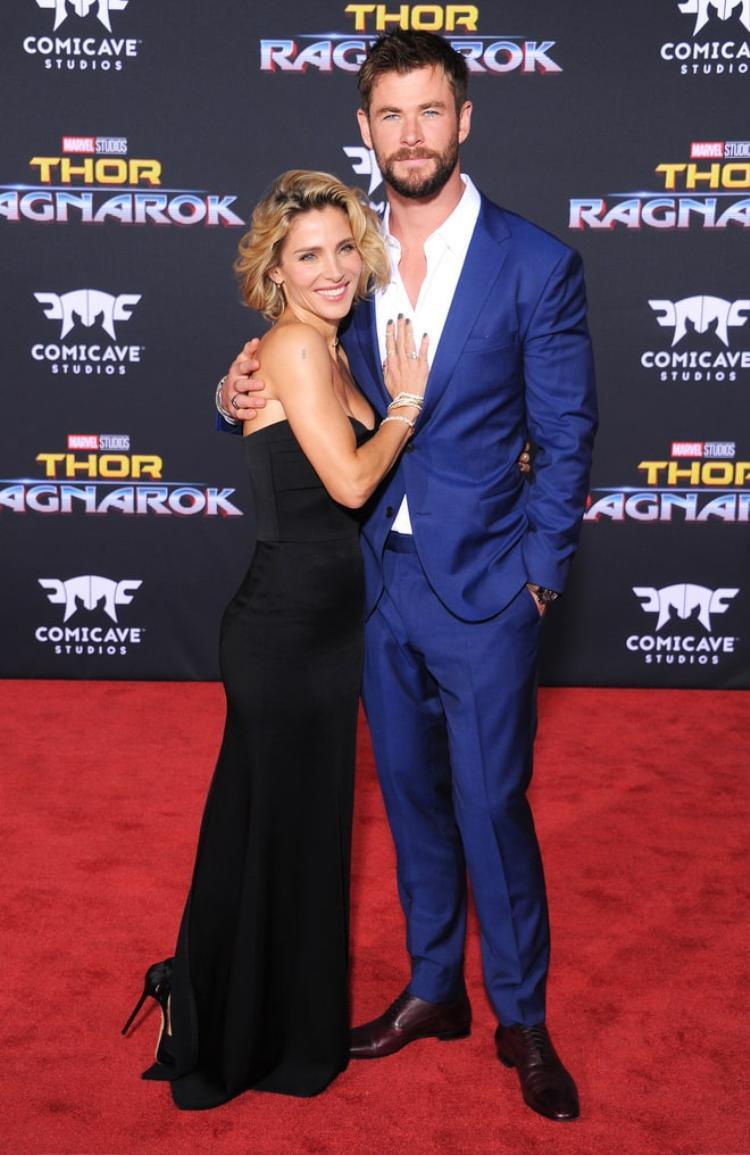 Trong khi đó, anh trai của Liam - Chris Hemsworth cũng có bóng hồng kề cạnh: Elsa Pataky.