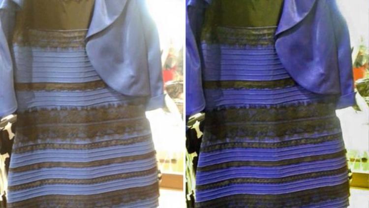 Chiếc váy gây tranh cãi năm 2015.