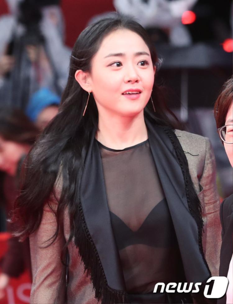Em gái quốc dân Moon Geun Young ngày nào giờ đã diện style xuyên thấu gợi cảm.