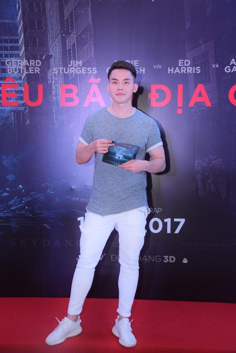 Hiện tại anh chàng giải bạc Siêu mẫu Việt Nam 2016 đang là MC của một số kênh truyền hình.