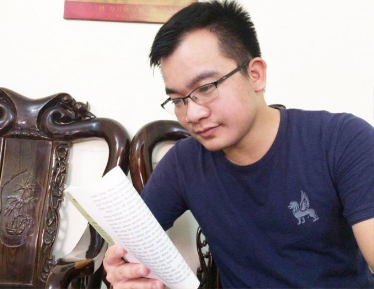 Anh Đinh Hữu Dư, phóng viên Thông tấn xã Việt Nam.