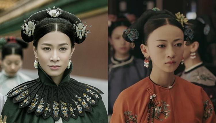Khi đến Diên Hi Công Lược thì nhân vật Kế Hoàng hậu và Lệnh phi lại đảo ngược vị trí cho nhau.