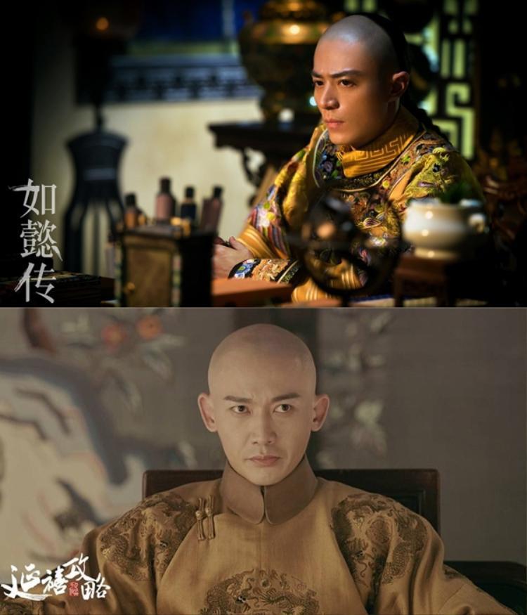 Hoàng đế Càn Long qua sự thể hiện của Càn Long và Nhiếp Viễn.