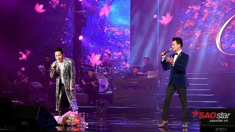 Màn song ca của Quang Dũng và Tùng Dương với ca khúc Mùa Thu Cho Em.