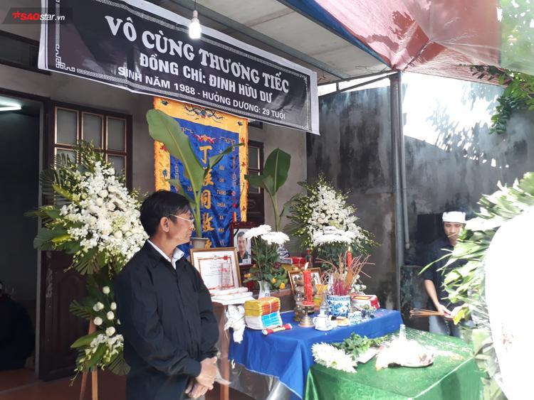 Lễ viếng được tổ chức tại quê nhà ở Tp.Ninh Bình.