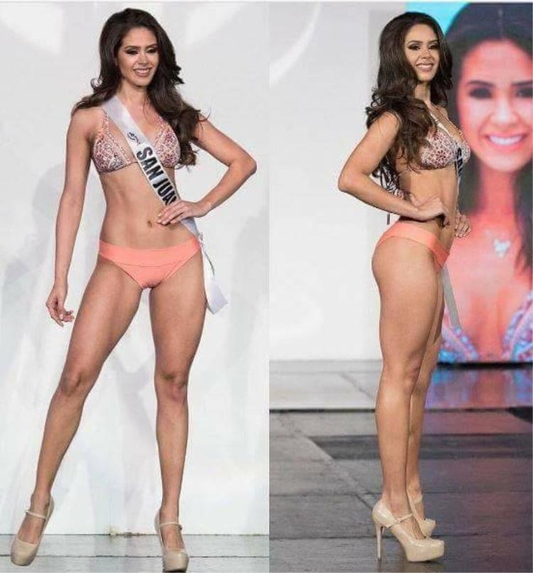 Hoa hậu Hoàn vũ Puertorico 2017 năm nay 20 tuổi. Cô hiện đang là sinh viên ngành quan hệ công chúng của Đại học Puerto Rico. Vóc dáng săn chắc với số đo ấn tượng.