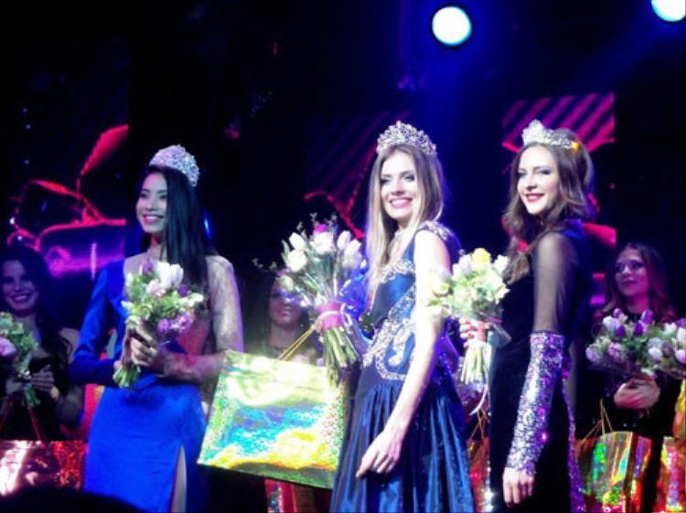 Phạm Hương từng giành giải Á hậu 1 - Hoa hậu thể thao thế giới tại Nga.