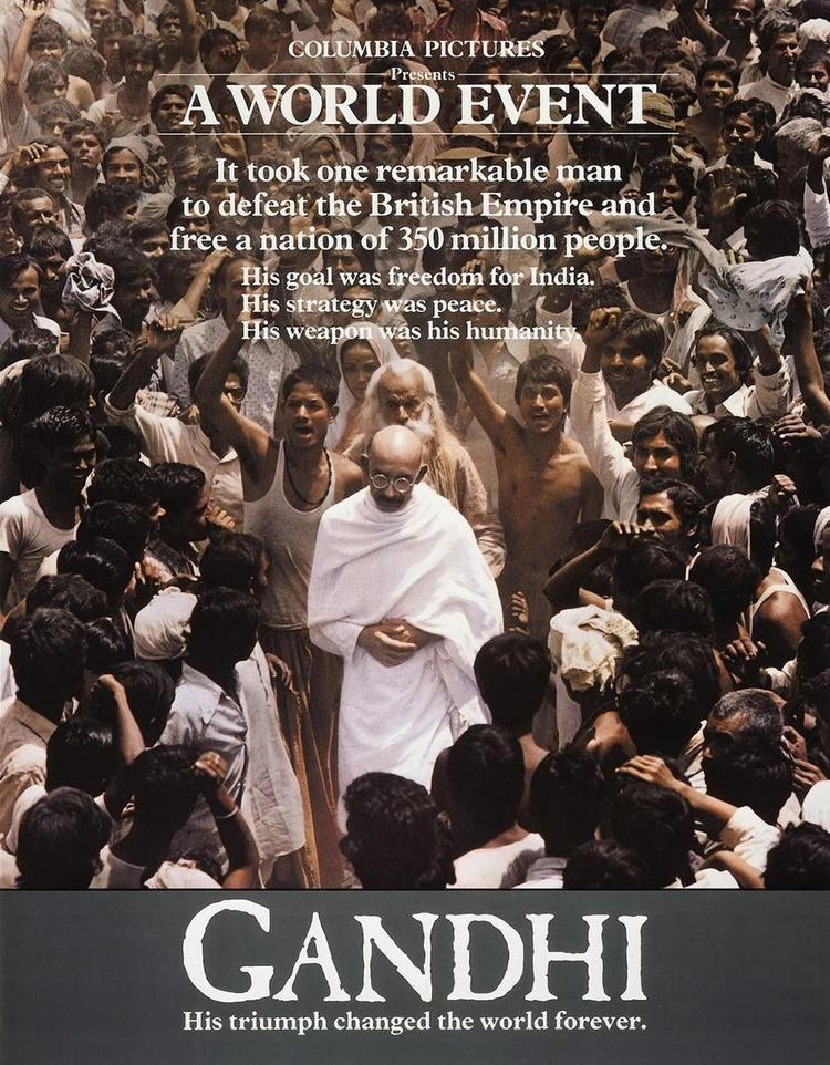 Poster phim Gandhi