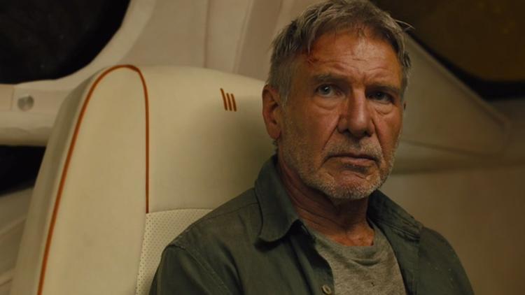 …và Harrison Ford không có đất diễn tương xứng ở Blade Runner 2049…