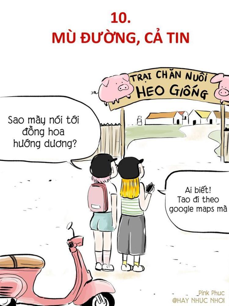 Lang thang ở xứ sở khác, người ta hay tin vào Google Maps, hoặc hỏi đường người dân. Nhưng không phải lúc nào Google Maps cũng đúng và người dân thì thân thiện…