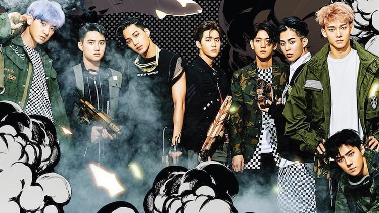 Bán hơn 1 triệu bản, The War là album tiếp theo của EXO đạt chứng nhận bạch kim