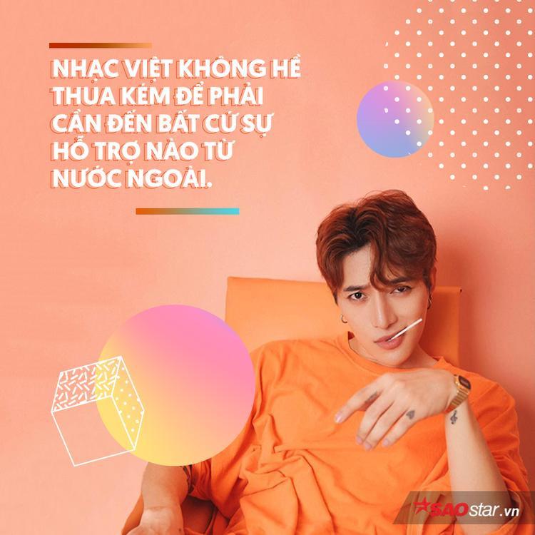 Châu Đăng Khoa: Xưa giờ luôn nghĩ chỉ mình nghe Kpop, đời nào Hàn Quốc nghe nhạc mình
