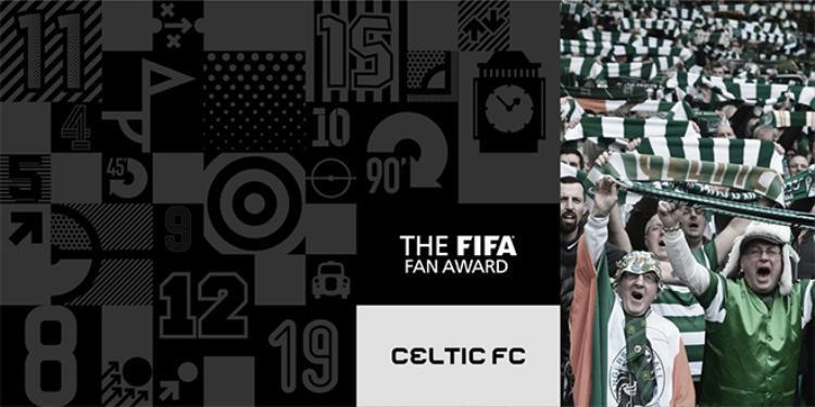 Phần thưởng cho CĐV thuộc về NHM Celtic của Scotland.