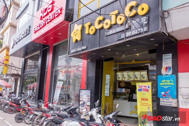 Toco Tocco, Royaltea - 2 thương hiệu trà sữa được nhiều người biết tới tại Hà Nội mọc lên san sát nhau.