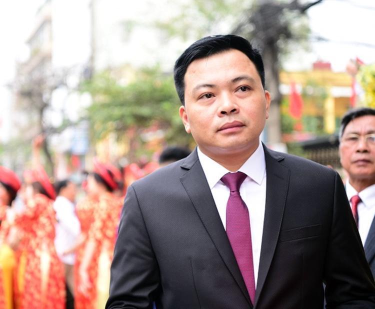 Chủ tịch Doãn Văn Phương của CLB Thanh Hóa.