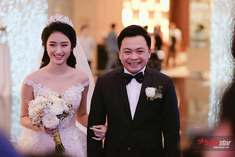 Bầu Phương cưới vợ Hoa hậu vào đầu năm nay.