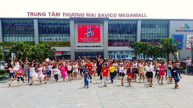Đây cũng là nơi diễn ra vòng sơ tuyển Giọng hát Việt nhí.