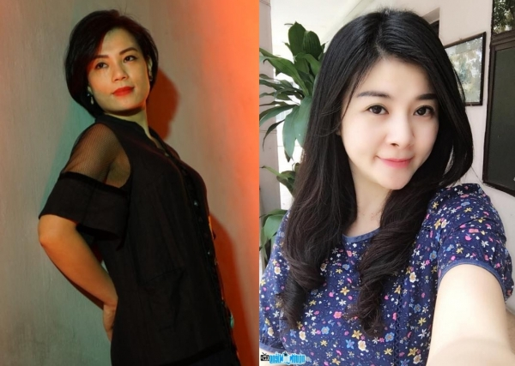 Vợ Xuân Bắc và Kim Oanh.