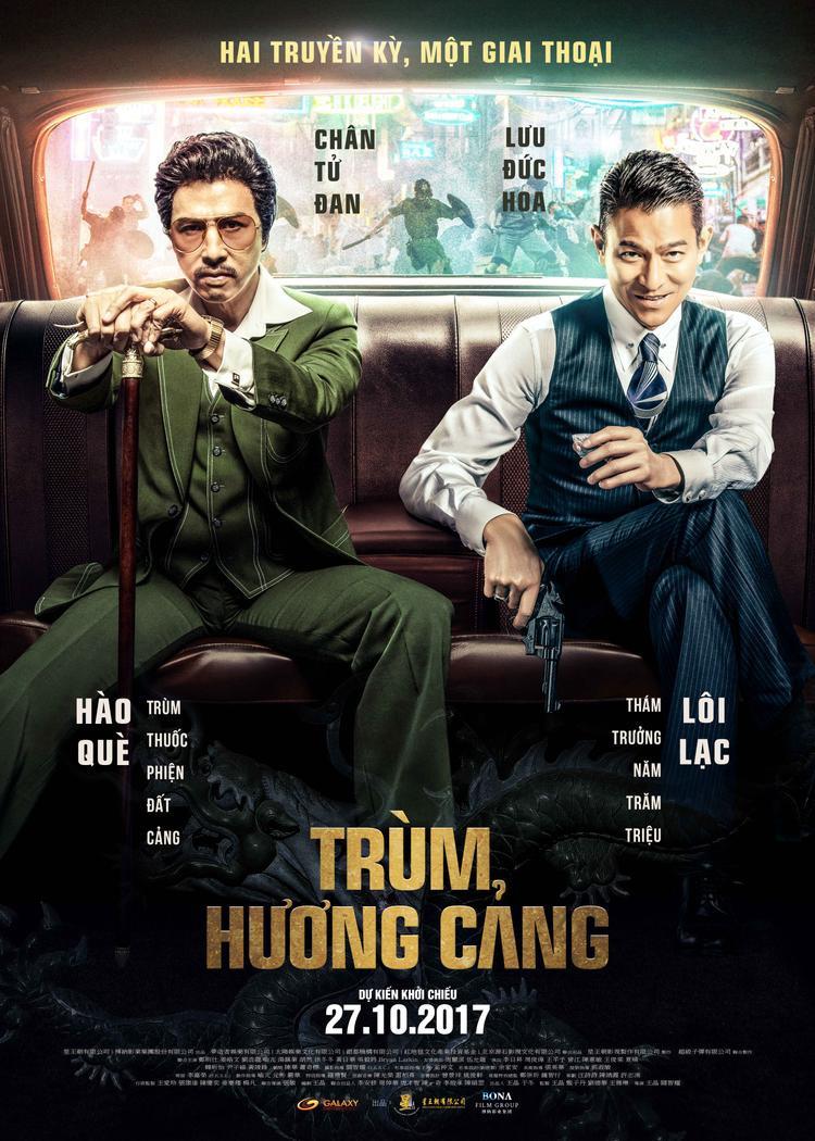 Phim Trùm Hương cảng giúp Lưu Đức Hoa tái ngộ khán giả với nhân vật đinh: Thám trưởng Lôi Lạc