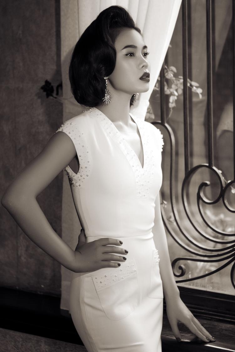 Giang Hồng Ngọc hóa Marilyn Monroe trong bộ ảnh ra mắt album nhạc xưa