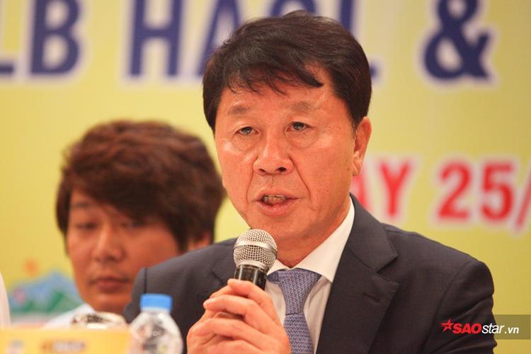 HLV Chung Hae Seong muốn đưa HAGL xưng bá Đông Nam Á.