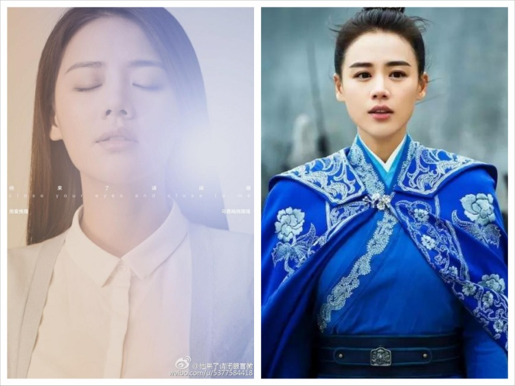 Hình ảnh trái ngược nhau của nữ chính ngôn tình Giản Dao và nữ tướng Diệp Chiêu