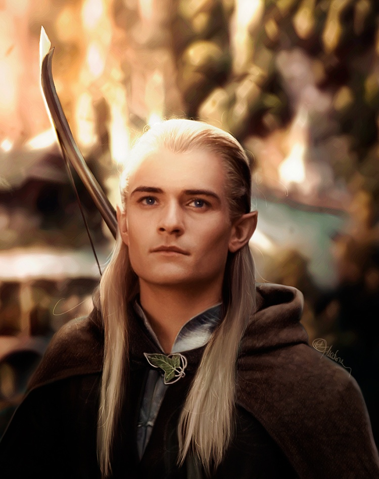"""""""Anh tiên"""" Legolas trong The Lord of The Rings."""