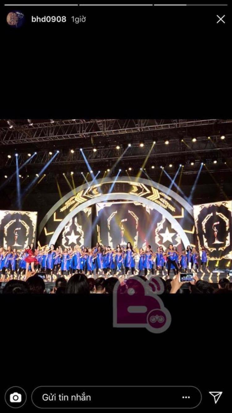Bạn trai cũ Tú Anh có mặt trong đêm Chung kết Miss Grand International 2017 để ủng hộ bạn thân Huyền My. Nguồn:Beatzoom