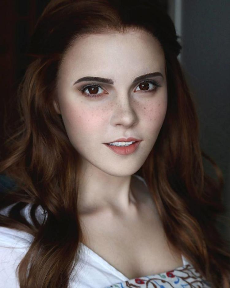 Nàng Belle trong phim Người đẹp và Quái vật, do diễn viênEmma Watson thủ vai.