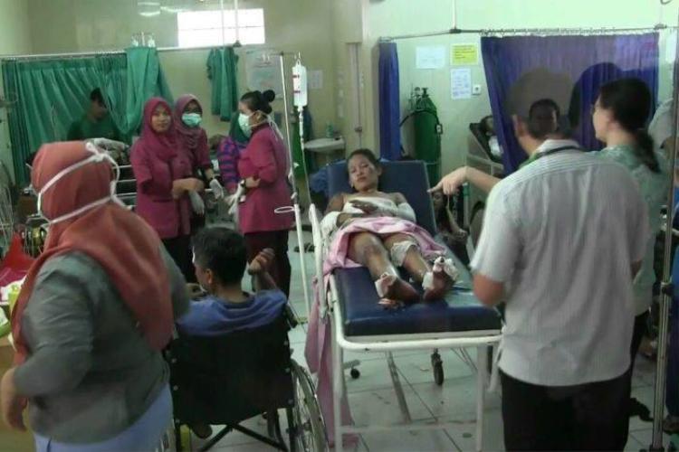 Nổ lớn tại nhà máy sản xuất pháo hoa ở Indonesia: 27 người chết, 35 người bị thương