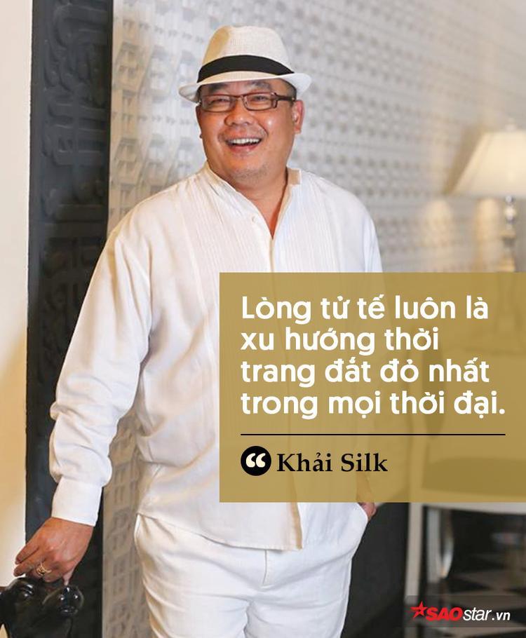 Ngoài lĩnh vực kinh doanh, ông Khải cũng có nhiều phát ngôn ấn tượng về cách sống đẹp.