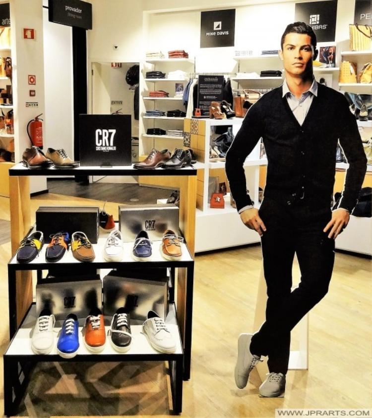 Ronaldo phải chi đậm để bảo vệ thương hiệu của anh.