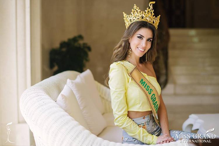 Những hình ảnh mới nhất của tân Hoa hậu Hoà bình Thế giới 2017 Maria Jose Lara