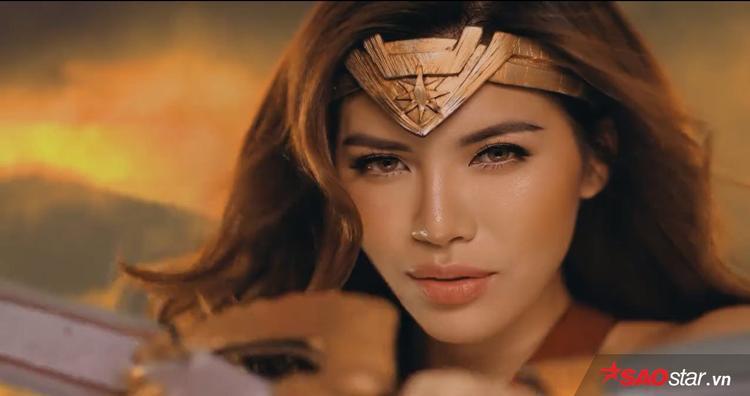 Hóa trang thành Wonder Woman, liệu Minh Tú có đọ được với chị đại Gal Gadot?