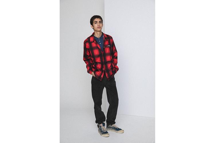 Những item basic như flannel, pant trouser,… vẫn được ứng dụng một cách khéo léo.