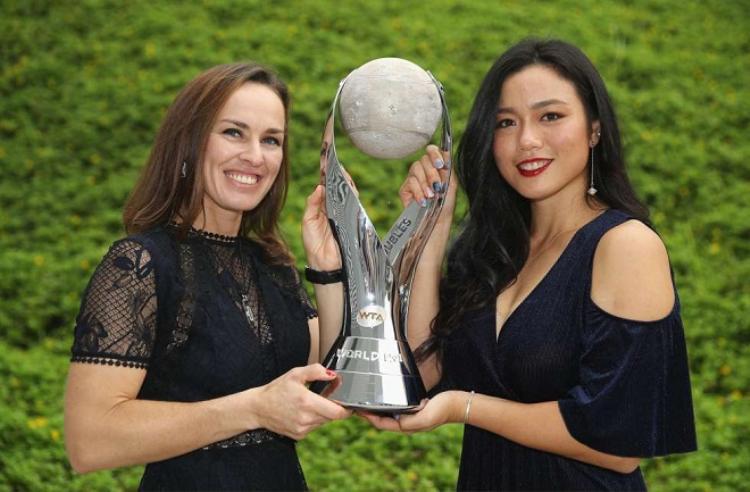 Hingis và đối tác Chan Yung-Jan hiện đang giữ vị trí số 1 thế giới nội dung đôi nữ
