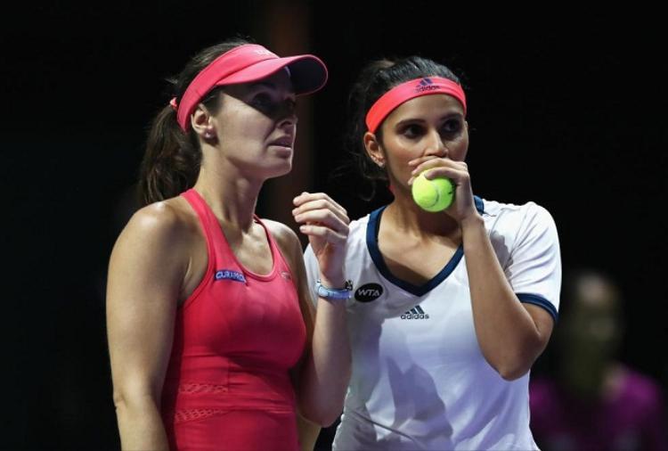 Mirza là tay vợt đánh cặp ăn ý nhất trong sự nghiệp Hingis
