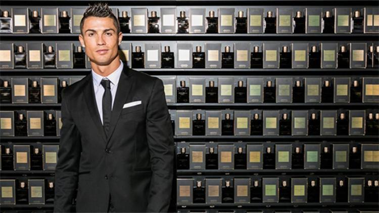 Nhãn hiệu nước hoa của Ronaldo
