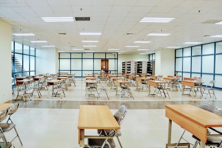 Không gian dành cho sinh viên học và đọc sách.