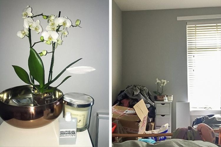 Đôi khi góc lên hình lại là góc gọn gàng nhất trong phòng bạn phải không, thừa nhận đi nào!