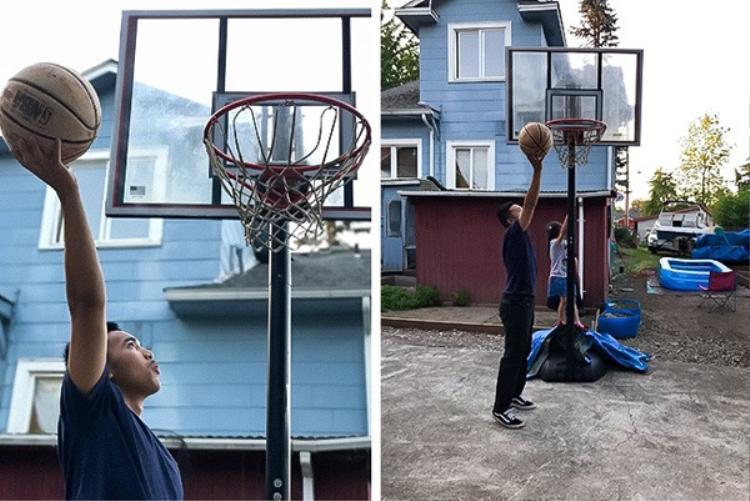 Xin dành tặng một ý tưởng cho bạn, những người không biết chơi bóng rổ nhưng lại cần một tấm hình sống ảo.