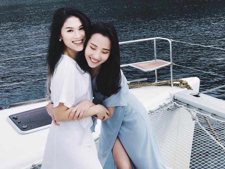 Cô và nữ diễn viên Ngọc Thanh Tâm là bạn thân hơn 10 năm