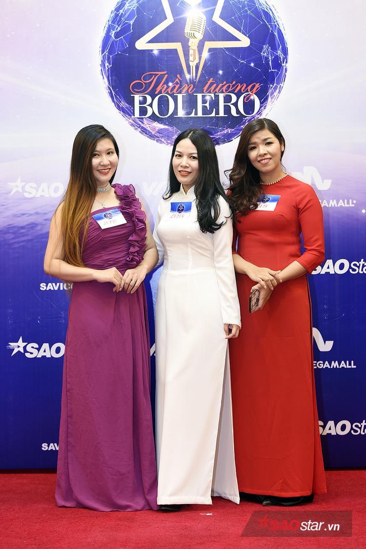 Nhiều thí sinh chọn trang phục áo dài truyền thống tự tin đến tham dự vòng casting.