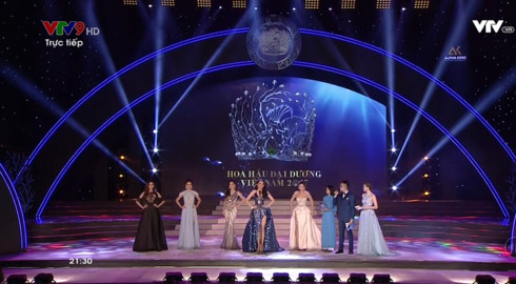 Huyền Trang lọt vào top 5 của Hoa hậu Đại Dương 2017.