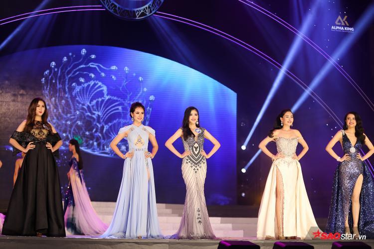 Top 5 xuất sắc của cuộc thi Hoa hậu Đại dương Việt Nam 2017.