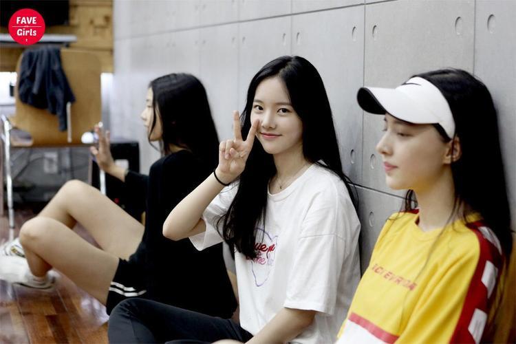 Center nữ - Thực tập sinh Lee Sujin thuộc công ty giải trí Fave Girls.