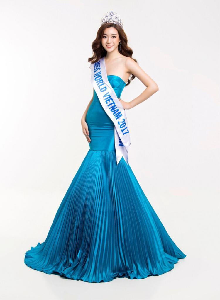 """Hoa hậu sinh năm 1996 đang """"chinh chiến"""" tại Miss World 2017."""