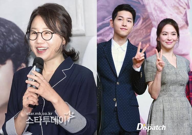 Biên kịch Kim Eun Sook là người đã tiết lộ những tình tiết đáng yêu của cặp đôi Song - Song với khán giả.