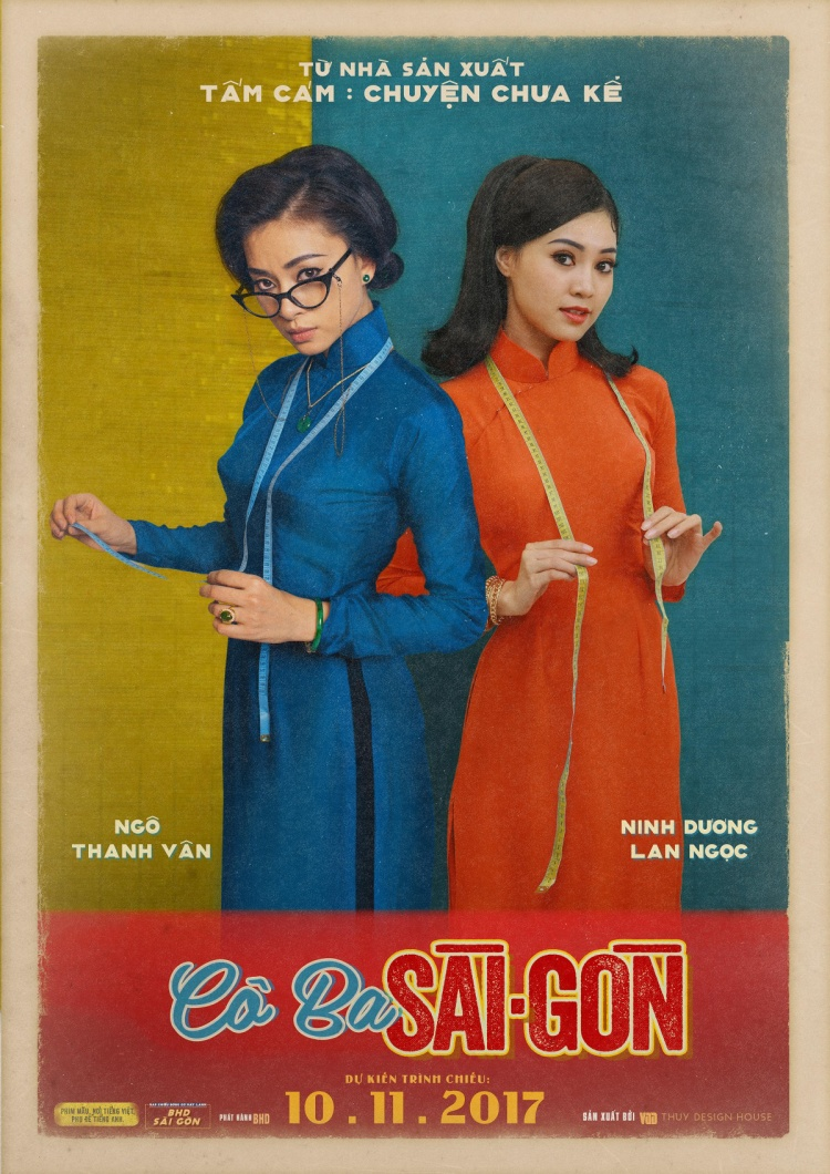 Cô Ba Sài Gòn đơn độc ra rạp tháng 11, loạt phim Việt dồn lực tấn công tháng 12