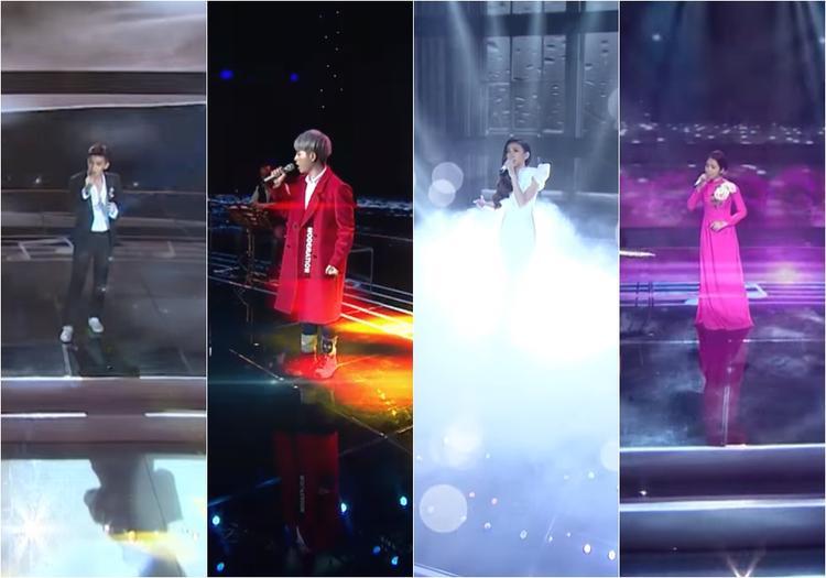 7 ca sĩ chính sẽ biểu diễn trên sân khấu để chinh phục các khách mời gạo cội.